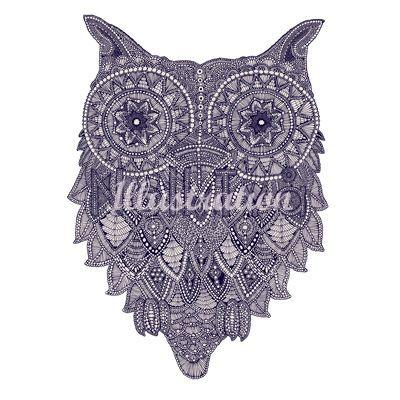 Noll Tva owl drawing the quiet revolution