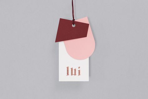 All Pink Brand Identity For Lui Store | Trendland