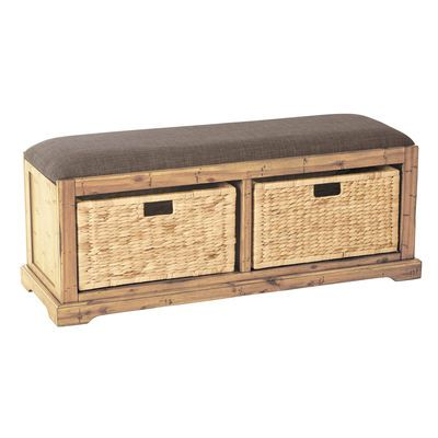 Marvelous Metal And Wood Storage Bench Squirreltailoven Fun Painted Chair Ideas Images Squirreltailovenorg