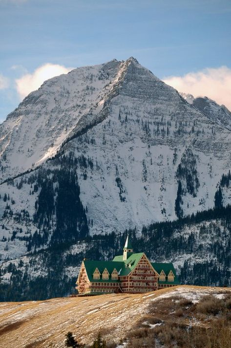 Prince of Wales Hotel in Waterton | Waterton Lakes National Park | Alberta | Canada | Favorite Mountain Vacation Getaway!!