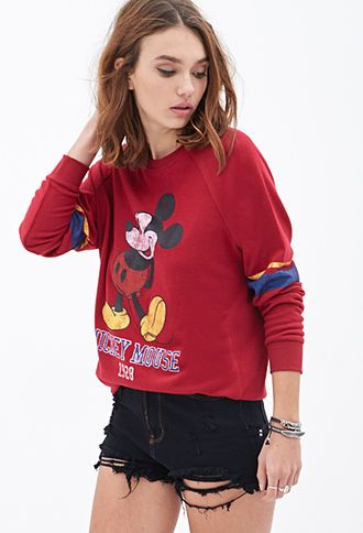 My Miley mouse Sweatshirt   FOREVER 21