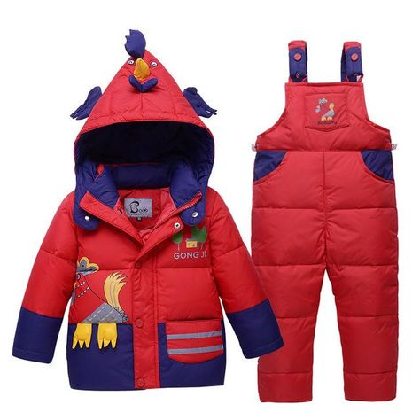 c9b6efa4e Baby Boy s Down Jackets Kids Snowsuit Children baby Ski Suit ...