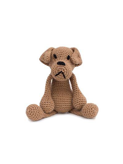 DIY Amigurumi Amigurumi Large Dog Make-3 Nose Eye And Tail ... | 534x400