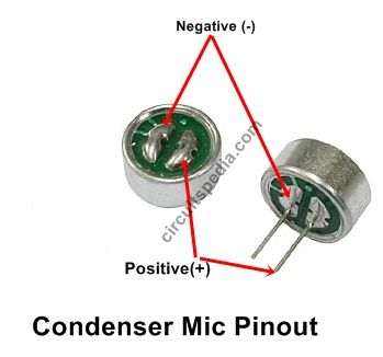 homemade mic amplifier circuit diagram, mic loud speaker circuit Condenser Microphone Schematic