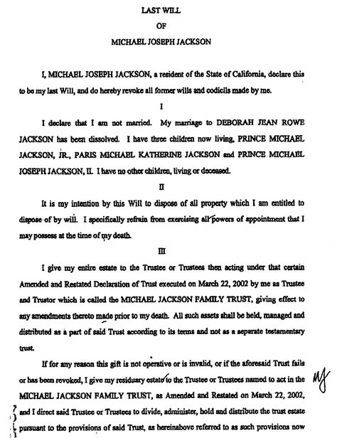 Last will and testament template Form Massachusetts Last will - free fake divorce papers