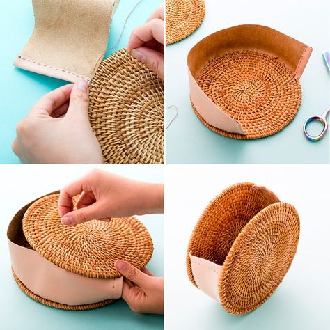 to DIY Backpack Patches Listen up! This method isn't messy and won't turn your hands a bazillion different colors.Listen up! This method isn't messy and won't turn your hands a bazillion different colors. Diy Clutch, Diy Purse, Crochet Handbags, Crochet Purses, Diy Sans Couture, Circle Purse, Brit, Diy Sac, Diy Backpack