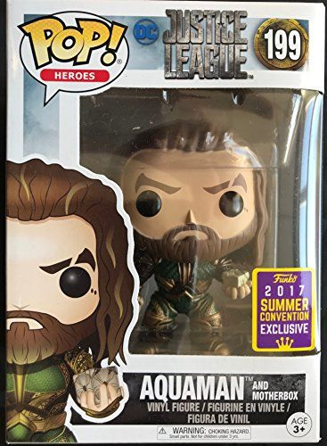 heros DC films Aquaman #199 Vinyl Action Figure New in Box exclusive Funko POP