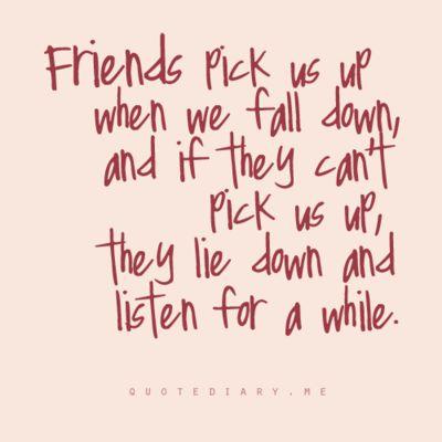 """The art of true friendship"""