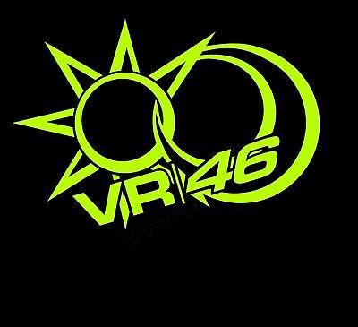 Détails Sur Stickers Vr46 50 Valentino Rossi 46 Tribu