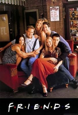 FRIENDS TV SHOW Art Silk Poster 12x18 24x36 24x43