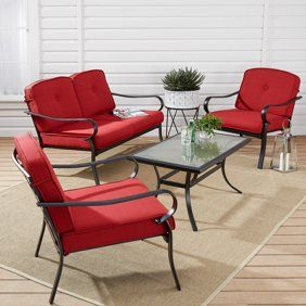 Patio Garden With Images Patio Loveseat Stackable Furniture