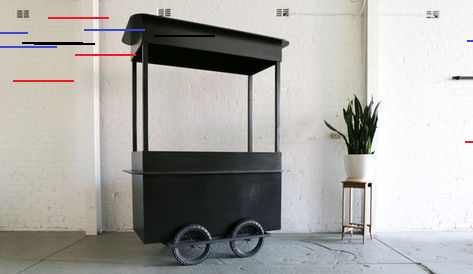Batman Mobile Cart In 2020 Food Cart Design Cool Bars Mobile Cart