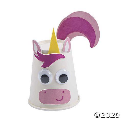 Unicorn Cup Craft Kit