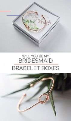 """Great Gift Ideas for Everyone - Blue Pelican Gifts These rose gold or gold tie the knot bracelets with a bridesmaid proposal box asking your wedding party """"Will you be my Bridesmaid?"""" is a unique way to ask them to be your bridesmaid and a wedding keepsake. #bemybridesmaid #willyoubemybridesmaid #bridesma  These rose gold or gold tie the knot bracelets with a bridesmaid proposal box asking your wedding party """"Will you be my Bridesmaid?"""" is a unique way to ask them to be your bridesmaid and a wed"""
