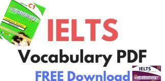 Ielts Vocabulary Pdf Free Download Ielts Mega Vocabulary Pdf Vocabulary Ielts