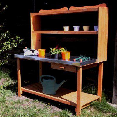 Garten Arbeitstisch Arbeitstisch Gartentisch