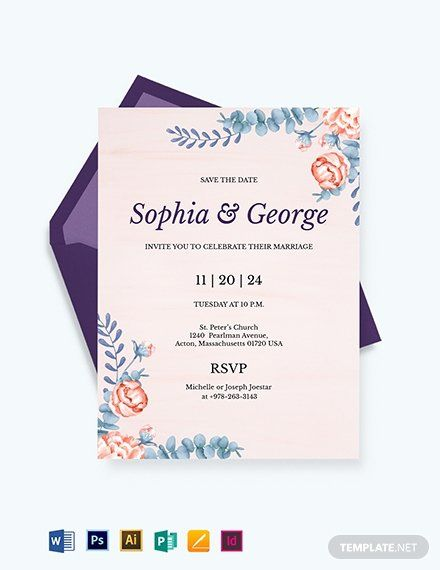 Indesign Wedding Invitation Template Best Of Elegant Traditiona Wedding Invitation Card Template Free Wedding Invitation Templates Wedding Invitation Templates