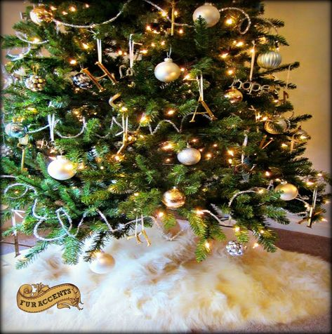 A1, 18 SUNGFINE 18 Christmas Tree Skirt,Small Size Christmas Tree Apron Xmas Tree Decorations for Holiday Party