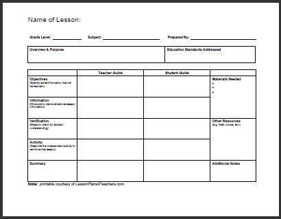 The 25+ best Sample of lesson plan ideas on Pinterest Teacher - lesson plan