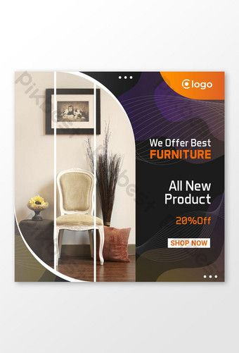 Facebook Post Minimalist Black Furniture Template Ai Free Download Pikbest Facebook Post Template Black Furniture Post Design