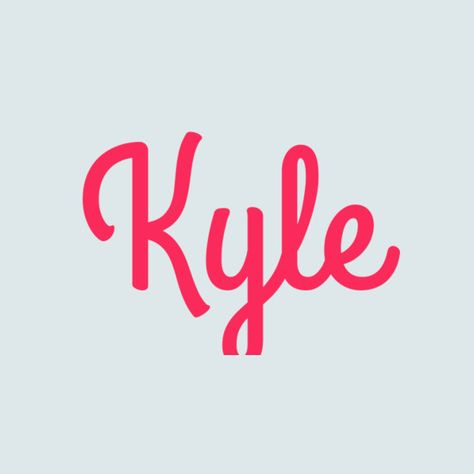 Kyle - Traditional Boys' Names That Are Super Cute for Girls - Photos