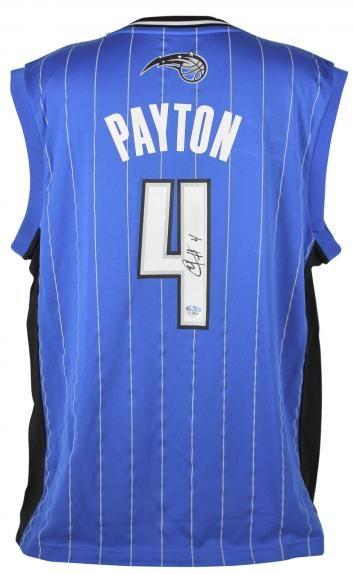 buy popular 39e83 c3e1a Elfrid Payton Autographed Jersey - Blue Adidas Fanatics COA ...