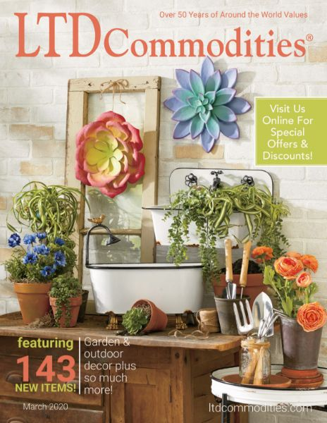 Ltd Commodities Gifts Unique Finds Home Decor Storage Catalogs Ltd Commodities Garden Decor Flower Stands