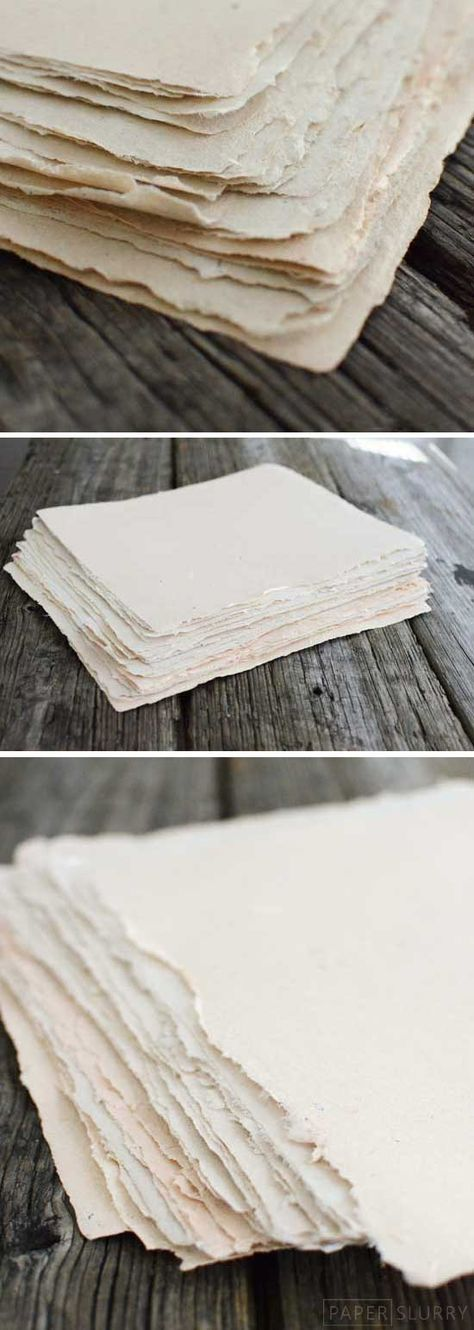 Making paper by hand at home can be a pretty simple process. It's also a fantastic way to use up your oldreceipts, scrap papers, junk mail, and copy paper that you were about tothrow in the…