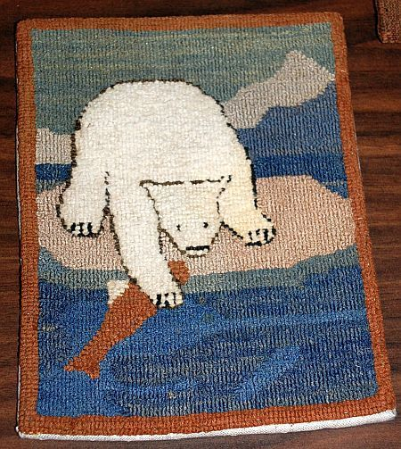 Paula Laverty On Grenfell Hooked Rugs Textile Museum Newfoundland Rug Hooking