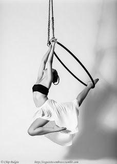 """Aerial Hoop: Poses directory - vol. 8 """"Hands and Legs Hangs"""""""