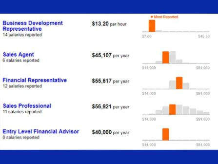 Transamerica Financial Advisors Salary Financial Advisors