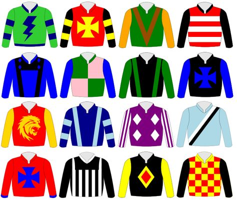 Jockey Silks Google Search Kentucky Derby Horse Racing Party Race Night