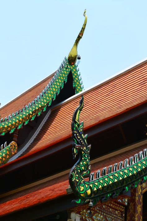 Download this free photo from Pexels at https://www.pexels.com/photo/worms-eye-view-of-green-and-orange-temple-161224/ #art #landmark #building