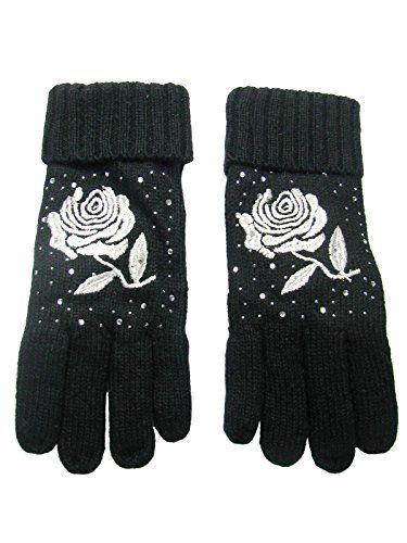 Bench Rivelin B Handschuhe Touchscreenfähige Strick Handschuhe für Damen