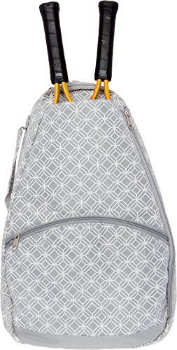Tennis Racket Backpack Womens Tennis Racquet Holder Bag By Lish Grey See This Great Product This Is An Aff Tennis Racquet Bag Racquet Bag Tennis Backpack
