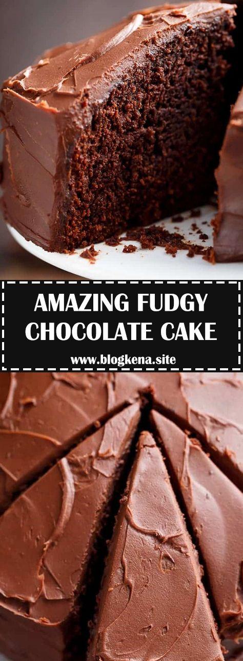 Ingredients Chocolate Cake 1 1 X2f 2 Cups 7 Oz X2f 200 G All Purpose Or Plain F Fudgy Chocolate Plain Chocolate Cake Recipe Healthy Hot Chocolate Recipe