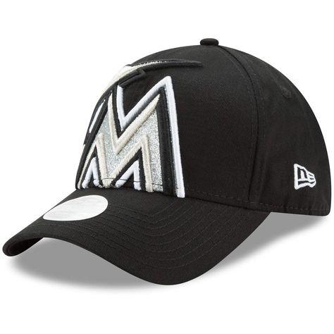 new concept 12727 5291e Miami Marlins  47 Ripley Flex Hat - Black White   MLB-Miami Marlins   Miami  Marlins, Hats, Miami