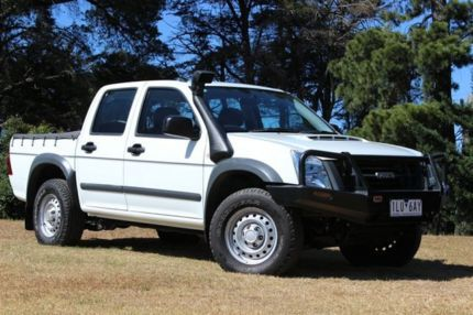 2011 Isuzu D Max My11 Sx White 5 Speed Manual Utility Cars Vans
