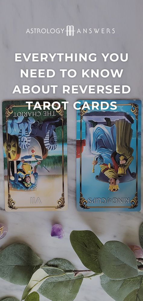 Wait - how do you read reversed Tarot cards? Discover in today's article! #tarot #tarotcards