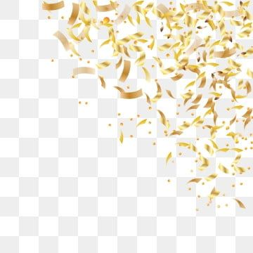 Falling Shiny Golden Confetti Isolated On Transparent Background Bright Festive Tinsel Of Gold Color Confetti Background Isolated Png And Vector With Transpa In 2021 Banner Background Images Confetti Background Textured Background