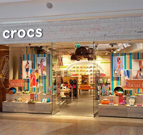 Retail store design, Crocs, Store