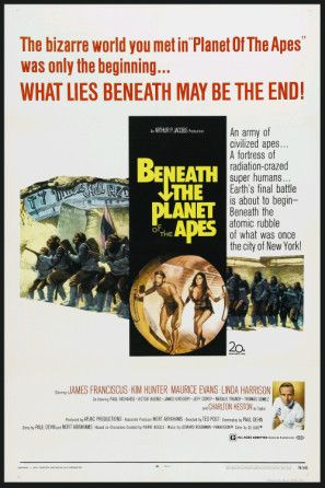 Beneath The Planet Of The Apes 1970 Poster Planet Of The Apes