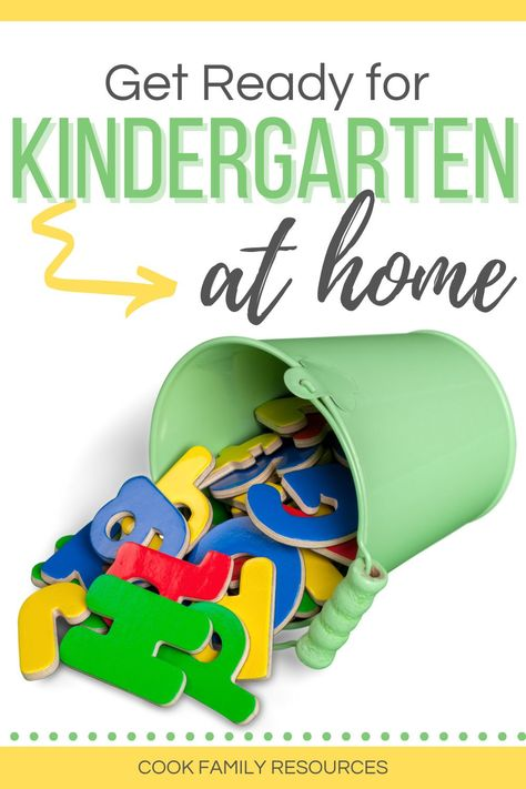 Get ready for kindergarten at home. This post gives parents tips for getting ready for kindergarten at home.  Whether you are looking for help with how to teach kindergarten at home or you are looking for kindergarten readiness activities, this post has some very good literacy activities for kindergarten at home. #kindergartenreadinessparents #kindergartenskills #prepareforkindergarten