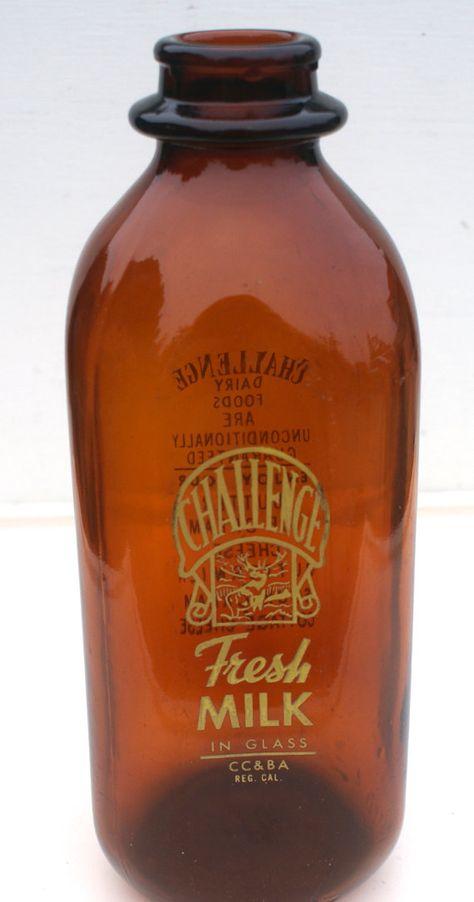 Vintage Milk Bottle Autumn Decor by BeachLaneVintage on Etsy, $15.00