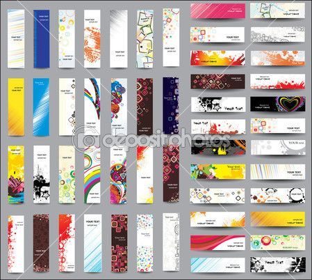 Mix Collection Vertical Banners Stock Vector - Illustration of abstract, layout: 22127966