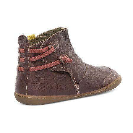 Greenpika Shoes Round Toe Coffee Casual Shoes Greenpika Soft