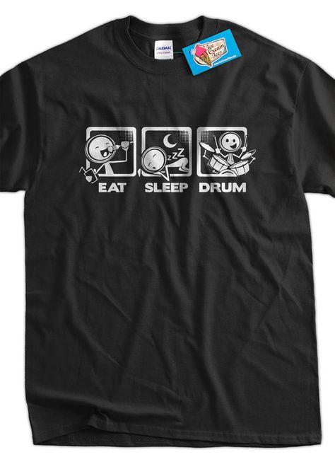 Buzz Shirts Davinci Drummer Drum Hoodie Or Sweater Drumming Mens Ladies Unisex
