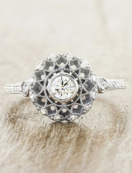 Cordelia Engagement Ring - Stunning and Unique Engagement Ring Ideas - Photos