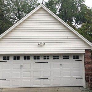Craftsman Style Faux Garage Door Windows Vinyl Decals No Etsy Garage Doors Garage Door Design Single Garage Door