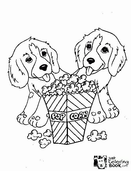 Free Printable Dog Coloring Pages For Kids Within Free Download K